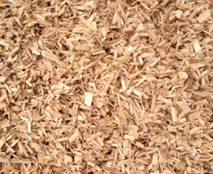 Coarse chip Horse bedding